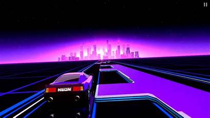 Neon 80s Wallpapers Arcade Retro Iphone Drive