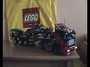 Lego Technic Camion : lego technic 8041 camion da gara mp4 youtube ~ Nature-et-papiers.com Idées de Décoration