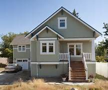 Exterior Window Color Schemes by Greenlake Custom Home Craftsman Exterior Seattle By Ventana Construct
