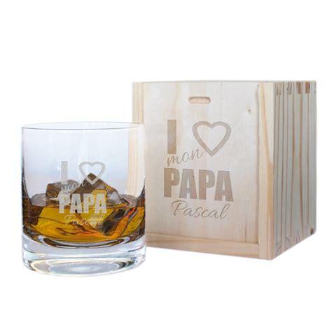 livre de cuisine personnalisé verre à whisky fête des pères personnalisé amikado