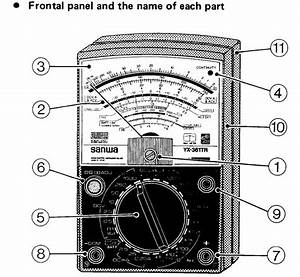 how to use and read a multimeter free cellphone repair With multimeter used as an ohmmeter to measure component resistance
