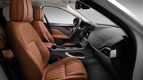 jaguar  pace interior luxury suv features ocean