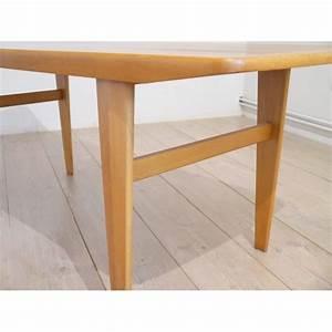 Table Basse Scandinave : table basse scandinave teck la maison retro ~ Teatrodelosmanantiales.com Idées de Décoration