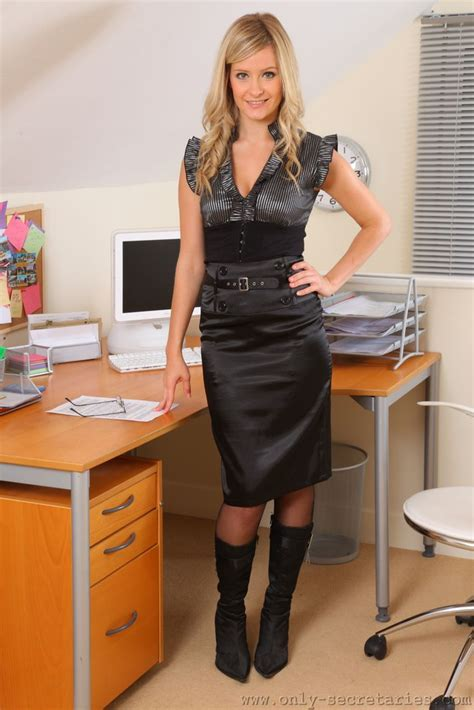 21 best images about office babes on pinterest sexy the office and satin skirt