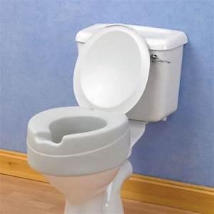 Rehausseur Toilette Adulte : rehausseur de toilettes en mousse ~ Farleysfitness.com Idées de Décoration