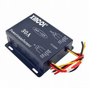 Xincol U00ae Vehicle Car Dc 24v To 12v 6a 10a 15a 20a 30a Power Supply Transformer Converter