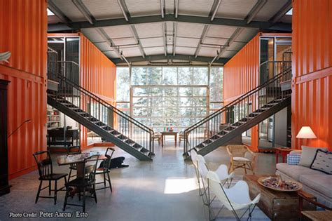 living   shipping container