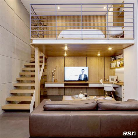 interior design model homes pictures tips mengolah ruang di bawah mezzanine