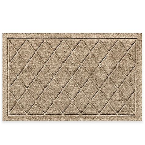 weather guard mats weather guard 20 inch x 30 inch argyle door mat in camel