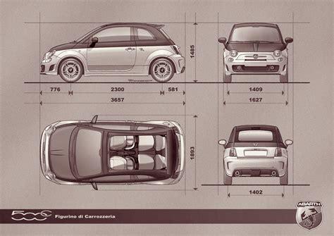 Fiat 500 Length fiat 500 specs 2017 ototrends net