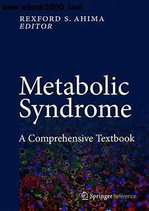 Metabolic Syndrome  A Comprehensive Textbook