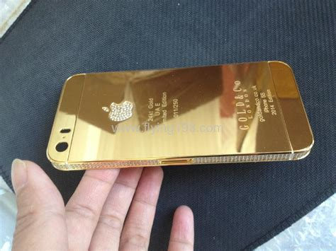 Iphone 5s 24ct Gold Housing Backcover