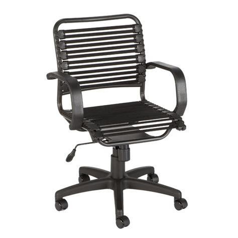 Bungee Office Chair by Black Flat Bungee Office Chair With Arms The Container Store