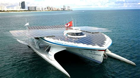 Battery Powered Boat by Using Solar Power To Run Electric Boats Metaefficient