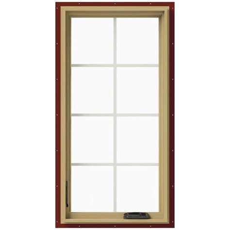 andersen      perma shield  series casement wood window  white exterior