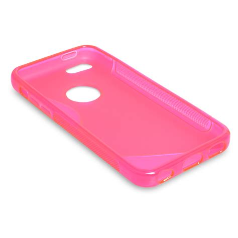iphone 5c silicone caseflex iphone 5c silicone gel s line pink