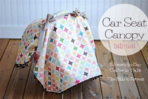 diy carseat canopy car seat canopy tutorial the ribbon retreat