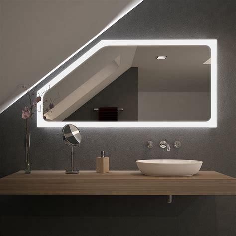 Spiegel Für Dachschrägen Mit Led Beleuchtung Kalis 989707062