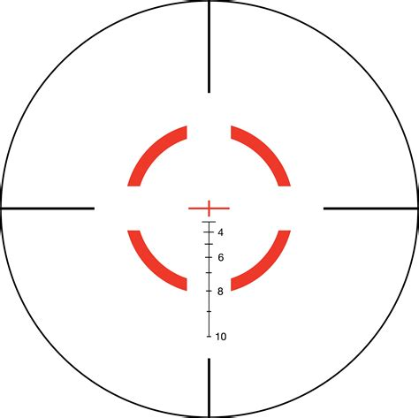 Trijicon VCOG 1-6x24mm Rifle Scope - Segmented Circle ...