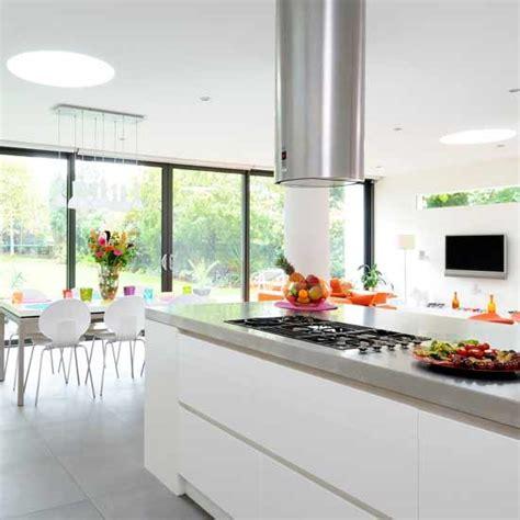 open plan kitchen diner designs 25 open plan kitchen dinner room design ideas cuisine 7200