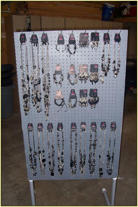 pegboard jewelry display home design  home design