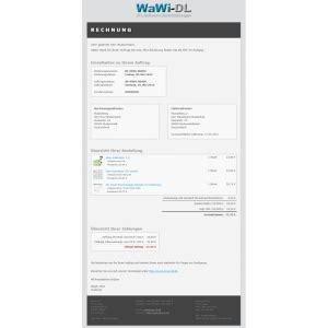 jtl wawi email vorlagen html design  wawi dl