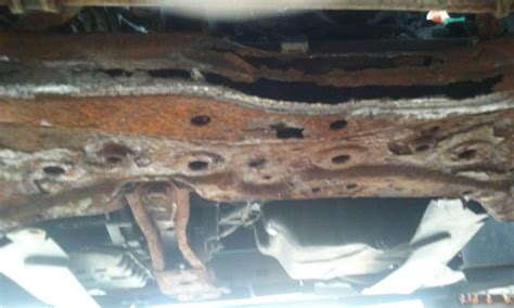 dodge caliber engine cradle rusted   complaints