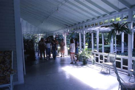 Home And Garden Show Fort Myers Fl florida memory view showing visitors on the porch at