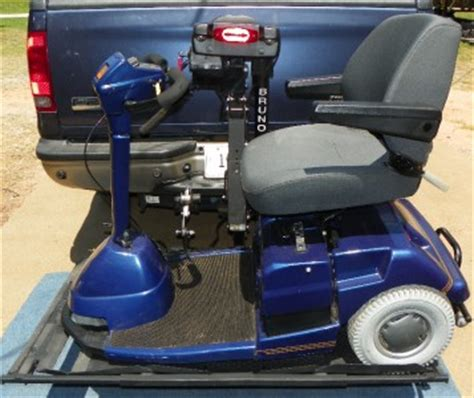 bruno electric wheelchair scooter lift