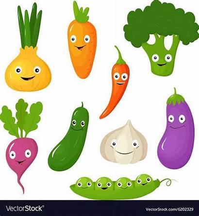 Vegetables Cartoon Vegetable Funny Various Google Fruit