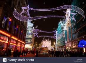 christmas decorations london england britain uk stock photo royalty free image 27548778 alamy