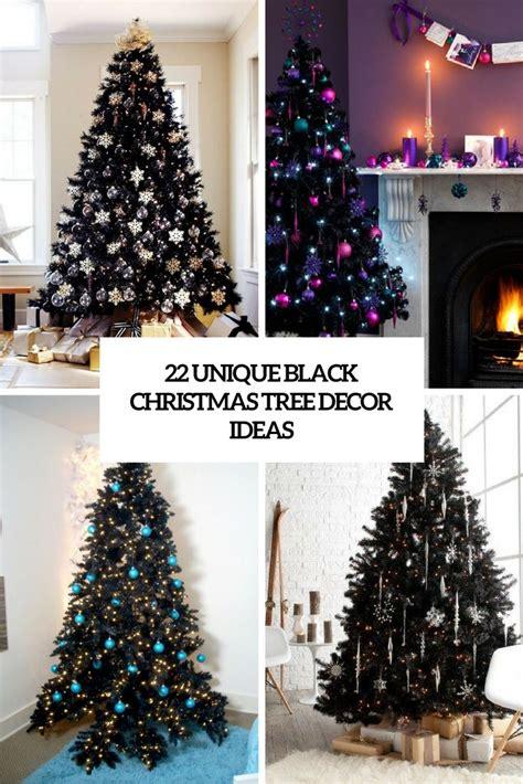 black christmas tree decor ideas cover christmas decor