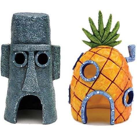 spongebob fish tank accessories aquarium decor walmart