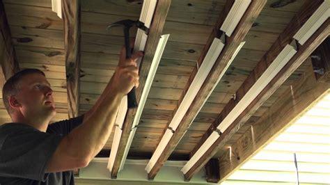 underdeck  original outdoor ceiling installation