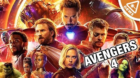 First Official Details Revealed For Avengers 4! (nerdist
