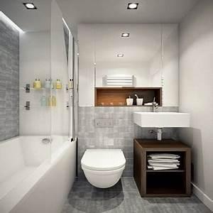 Une baignoire amenagee dans une petite salle de bain for Baignoire dans petite salle de bain