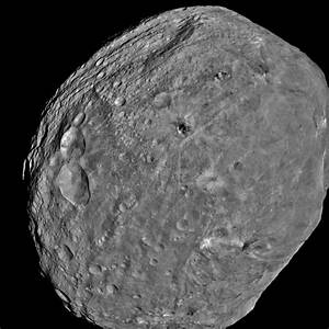 Large asteroid Vesta once had molten core, magnetic field ...