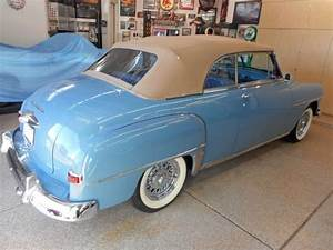 1951 Plymouth Cranbrook Convertibe Dodge Special Deluxe