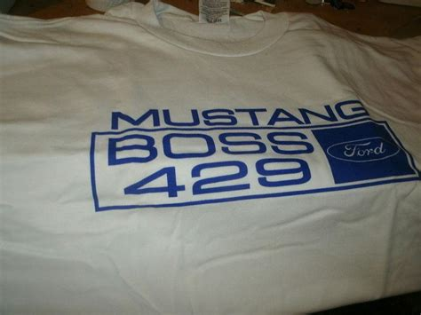 buy   ford mustang boss  blue white vintage