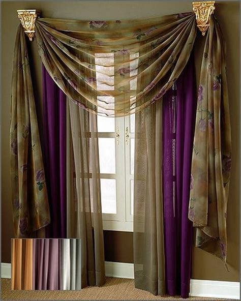 curtains and valances modern curtain design ideas for