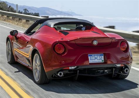 Price Of Alfa Romeo 4c by Alfa Romeo 4c Spider Price