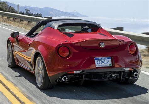Alfa Romeo 4c Spider Price