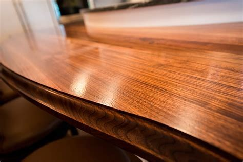 Bookmatched Walnut Island   Maryland Wood Countertops