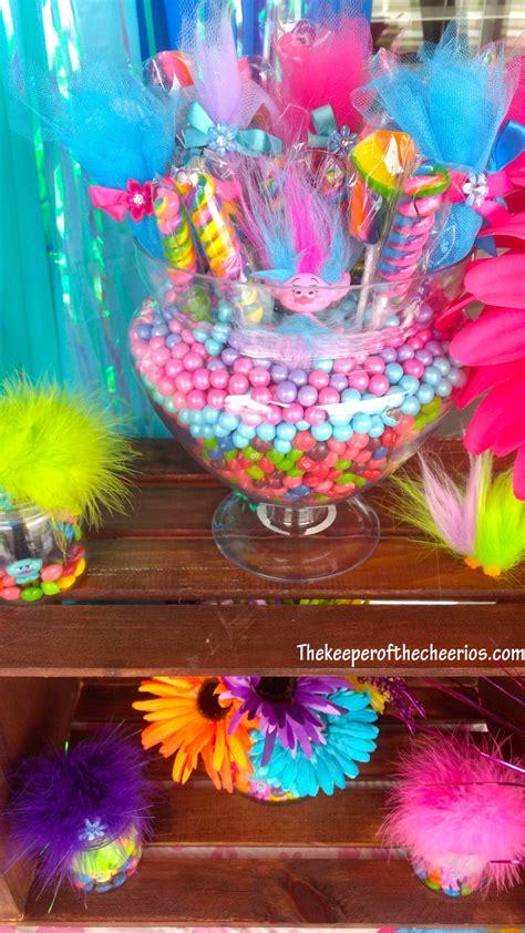trolls birthday party  keeper   cheerios