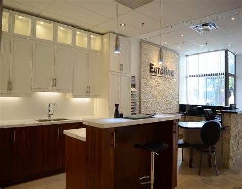 kitchen small cabinet showroom euroline kitchens mississauga 3075