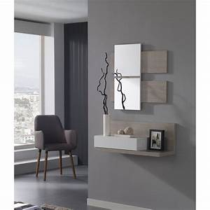 Console Avec Tiroir Meuble Entree : meuble commode entree avec miroir ~ Preciouscoupons.com Idées de Décoration