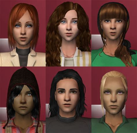 the sims 2 face replacement templates mod the sims full set of default face replacement templates