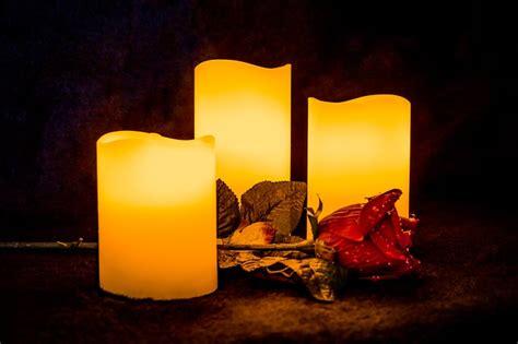 candle light rose  photo  pixabay