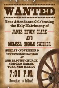 western wedding invitations 25 best ideas about western invitations on cowboy decorations