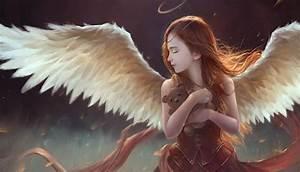 Angel, Fantasy, Art, Artwork, Wallpapers, Hd, Desktop, And, Mobile, Backgrounds